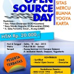 Seminar Umum Open Source Day FTI Universitas Mercu Buana Yogyakarta