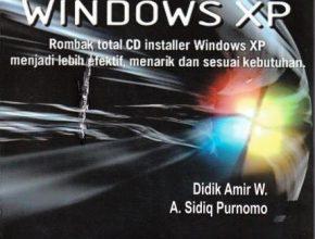 cover depan remastering windows xp